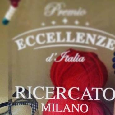 Ricercato among the seven Italian excellences for style and quality.